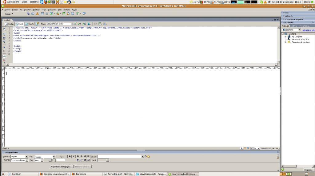 dreamweaver ubuntu